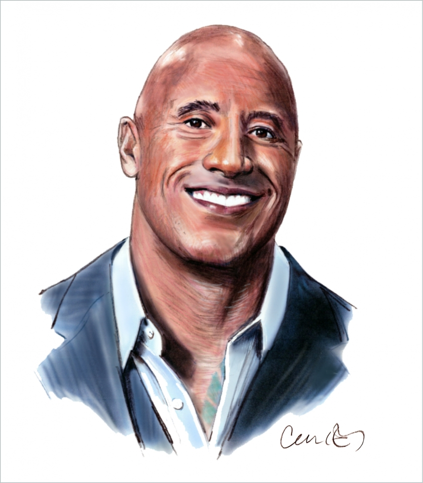Dwayne Johnson by Roger_Curley